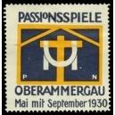 Oberammergau 1930 Passionsspiele ... (WK 01)