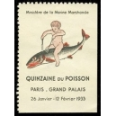 Paris 1933 Quinzaine du Poisson ... (WK 01)