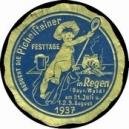 Regen 1937 Pichelsteiner Festtage ... (WK 01)