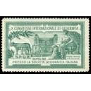 Roma 1911 X Congresso Internazionale di Geografia (grünlich)