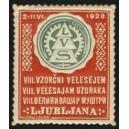 Ljubljana 1928 VIII. Vzorcni Velesejem ... (Var A - rot)