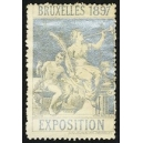 Bruxelles 1897 Exposition (Trompeterin - silber Rand weiss)