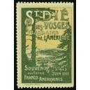 St. Dié 1911 Souvenir Fêtes Franco Americaines ... (WK 03)
