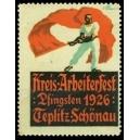 Teplitz-Schönau Kreis-Arbeiterfest 1926 Pfingsten (WK 01)