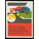 Frankfurt 1961 40. Internationale Automobil Ausstellung