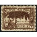 Bruxelles 1897 Exposition Arts Sciences ... (WK 06)