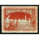Bruxelles 1897 Exposition Arts Sciences ... (WK 09)