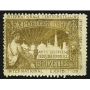 Bruxelles 1897 Exposition Arts Sciences ... (WK 10)