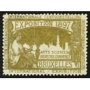Bruxelles 1897 Exposition Arts Sciences ... (WK 11)