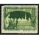 Bruxelles 1897 Exposition Arts Sciences ... (WK 12)