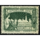 Bruxelles 1897 Exposition Arts Sciences ... (WK 13)