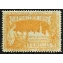 Bruxelles 1897 Exposition Arts Sciences ... (WK 14)
