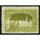 Bruxelles 1897 Exposition Arts Sciences ... (WK 15)