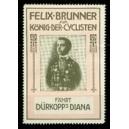Dürkopp Diana Felix Brunner König der Cyclisten (rosa/schwarz)