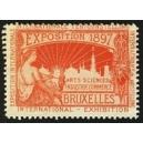 Bruxelles 1897 Exposition Arts Sciences ... (WK 18)