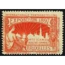 Bruxelles 1897 Exposition Arts Sciences ... (WK 19)