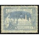Bruxelles 1897 Exposition Arts Sciences ... (WK 20)