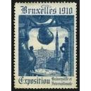 Bruxelles 1910 Exposition Universelle ... (Glocke - blau 03)