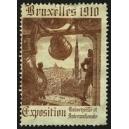Bruxelles 1910 Exposition Universelle ... (Glocke - braun 01)