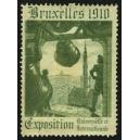 Bruxelles 1910 Exposition Universelle ... (Glocke - grün 02)