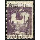 Bruxelles 1910 Exposition Universelle ... (Glocke - lila 03)