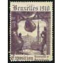 Bruxelles 1910 Exposition Universelle ... (Glocke - lila 03)