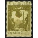 Bruxelles 1910 Exposition Universelle ... (Glocke - oliv 01)