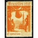 Bruxelles 1910 Exposition Universelle ... (Glocke - orange 03)