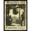 Bruxelles 1910 Exposition Universelle ... (Glocke - schwarz 01)