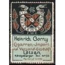 Gorny Cigarren-Import ... Lötzen (WK 01)