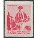 Tosolini's Sport-Magazin (WK 12 - rot - Pferderennen) Bullock