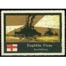 Englische Flotte Nachtübung
