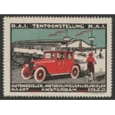 Amsterdam 1922 Tentoonstelling Automobielen ...