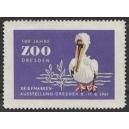 Dresden 1961 Briefmarken Ausstellung 100 Jahre Zoo