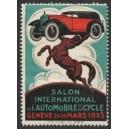 Genève 1925 Salon International de l'Automobile et du Cycle