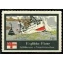 Englische Flotte Spähkreuzer u. Torpedozerstörer