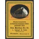 HMV Grammophon Matthes Wiesbaden ... (WK 01)