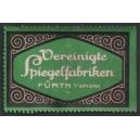 Vereinigte Spiegelfabriken Fürth (WK 01 - Schrift)