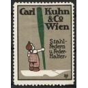 Kuhn & Co Wien Stahl-Federn u. Feder-Halter (WK 02)