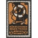 Künstlerinnen Hilfs-Verein München 2 Pfennig