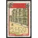 Levi Alzey Jubiläums-Marke 1853 - 1913