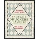 Tageblatt Druckerei Bamberg ... (WK 01)