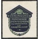 Vereinigung Münchener Steinmetzmeister ... (blau).