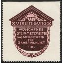 Vereinigung Münchener Steinmetzmeister ... (violett)