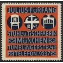 Fürfang Stuhl- u. Tischfabrik München (rot)