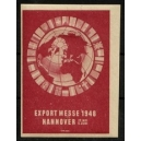 Hannover 1948 Export Messe (WK 01 - rot)