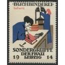 Leipzig 1914 Sondergruppe der Frau, Buchbinderei