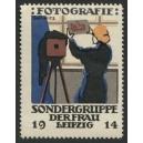 Leipzig 1914 Sondergruppe der Frau Fotografie