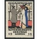Leipzig 1914 Sondergruppe der Frau Graphik