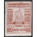 Bavaria Internat. Briefmarken Verband ... (rot)
